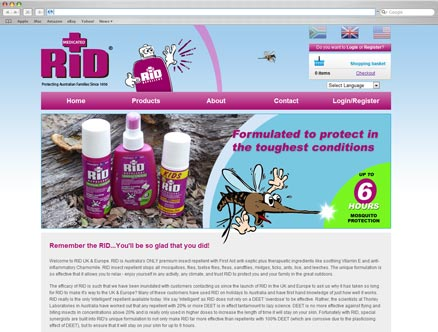 Rid Repellent design and developed by Fantasmagorical