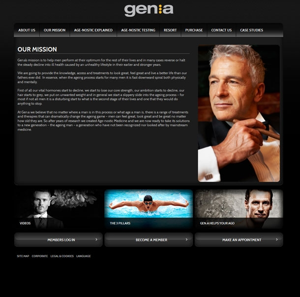 Genagenostic Mission Page